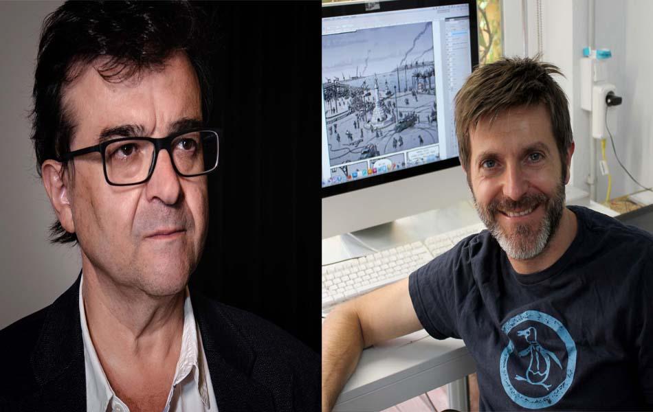 Imagen destacada Adictos a las trincheras, una conversación entre Javier Cercas y Paco Roca