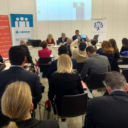 Asistentes a la presentación de la Guía para PYMES ante los Objetivos de Desarrollo Sostenible