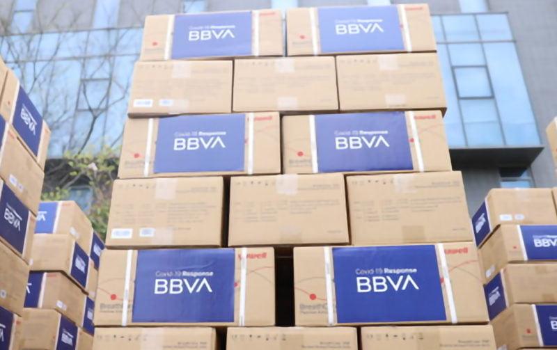 BBVA donará 25 millones de euros para combatir el coronavirus