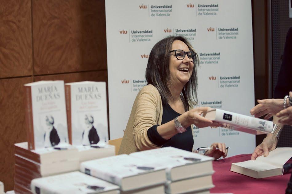 Imagen destacada María Dueñas revindica el papel de la mujer a través de las protagonistas de sus obras