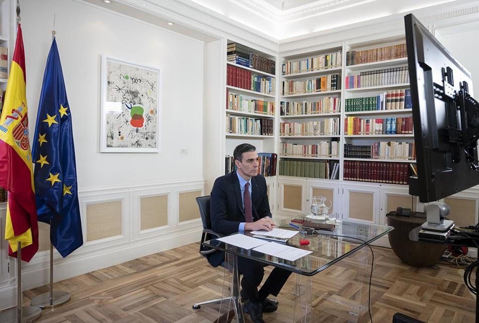 """Sánchez pide a la UE una respuesta en tiempos de """"economía de guerra"""""""