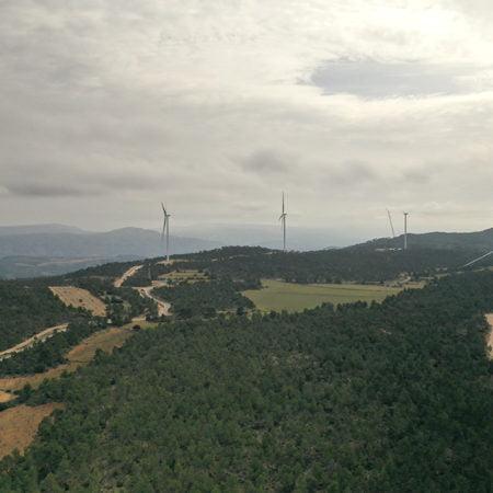 primer parque eólico