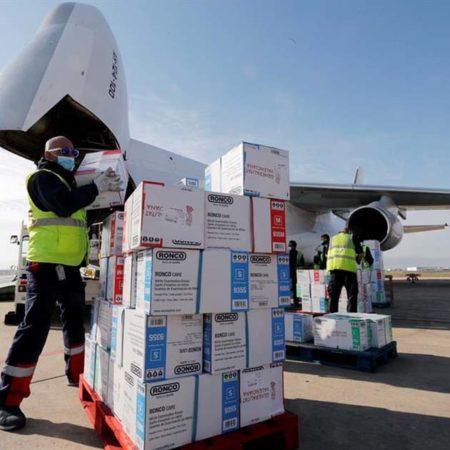avion-material-sanitario
