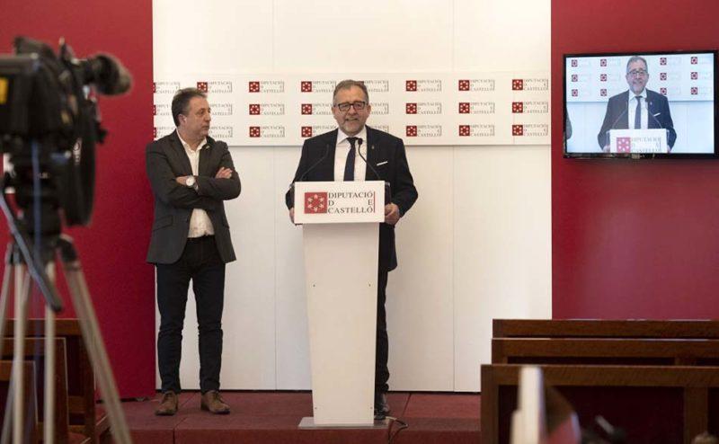 La Diputación de Castellón suscribe una póliza de 15 millones para la COVID-19
