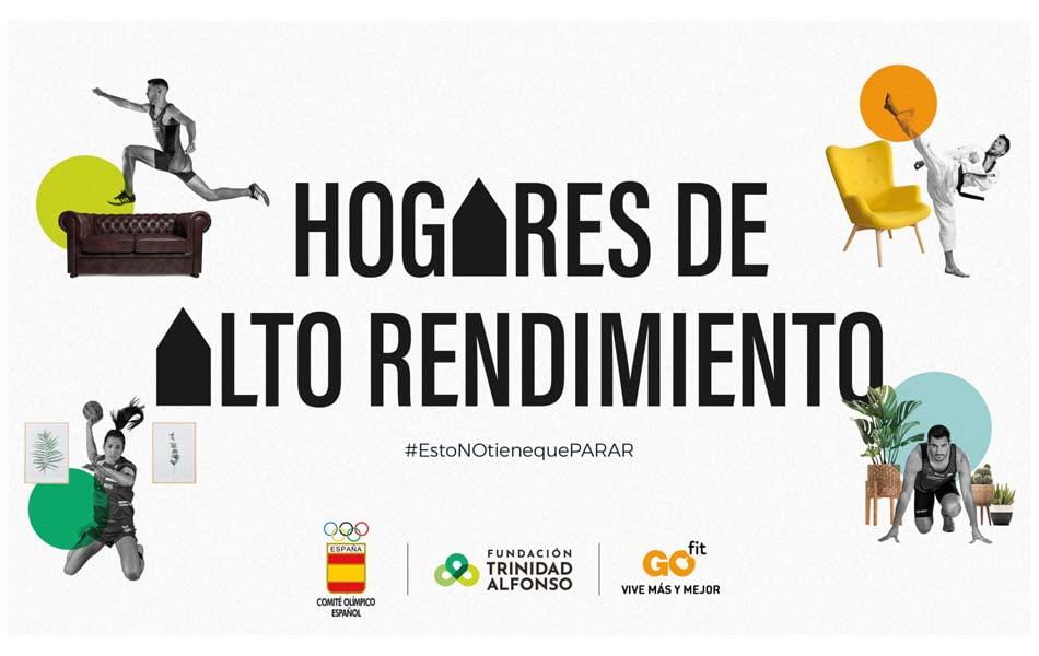 COE y Trinidad Alfonso ponen en marcha plan para deportistas élite