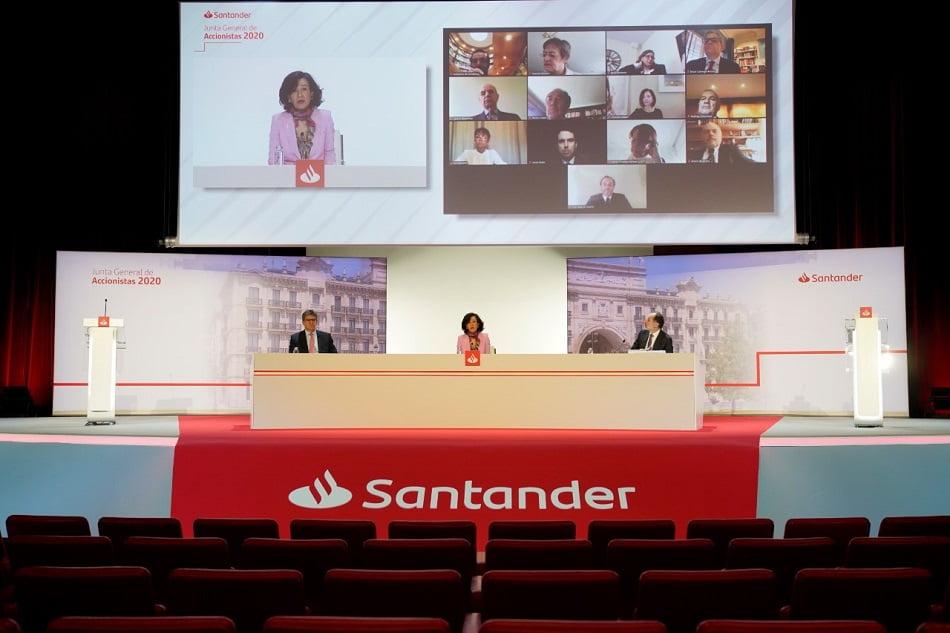 La cancelación del dividendo del Santander permitirá 90.000M de crédito adicional