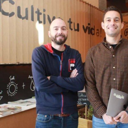 Alfonso y Pablo Sánchez, fundadores de Planeta Huerto.