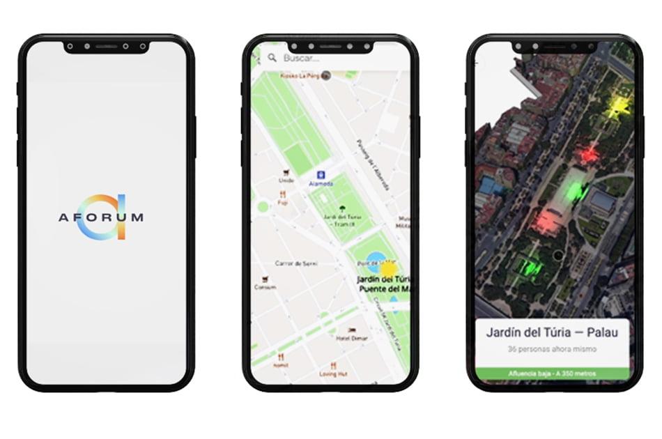 Aforum, la app de Sopra Steria que detecta densidad de gente en tiempo real