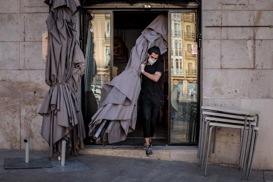 España es el segundo país europeo donde se perdió más salario por la pandemia