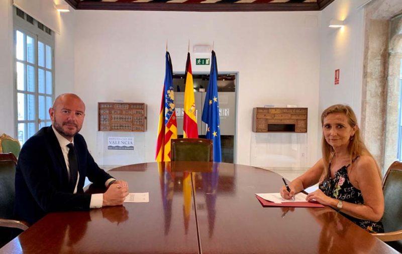CEV y la Diputación colaborarán para impulsar el desarrollo económico en Valencia