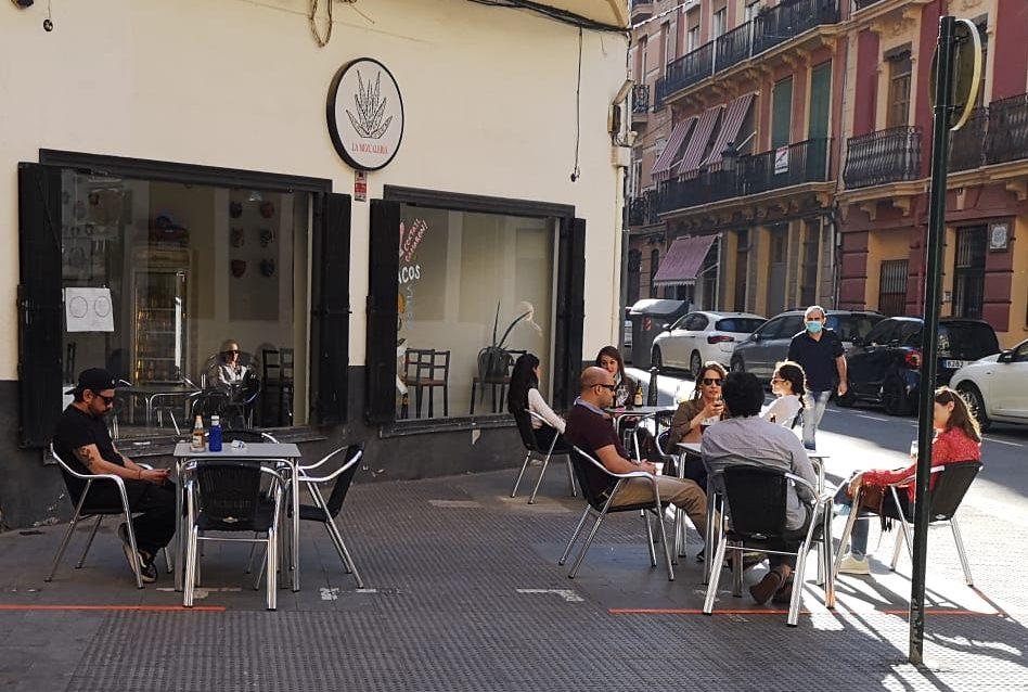 Imagen destacada El 19,35 % de los locales de hostelería de València reabrieron el lunes