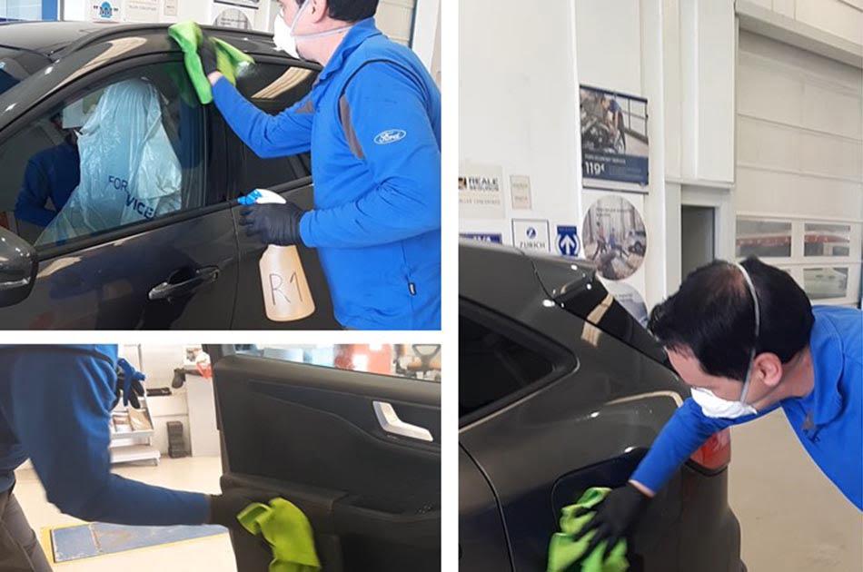 Imagen destacada Ford Vedat Mediterráneo desinfecta gratis los vehículos privados de sanitarios