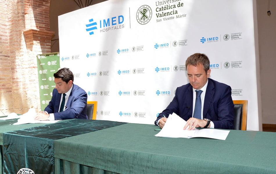 Imagen destacada IMED y la Católica crearán una unidad de medicina deportiva de alto rendimiento