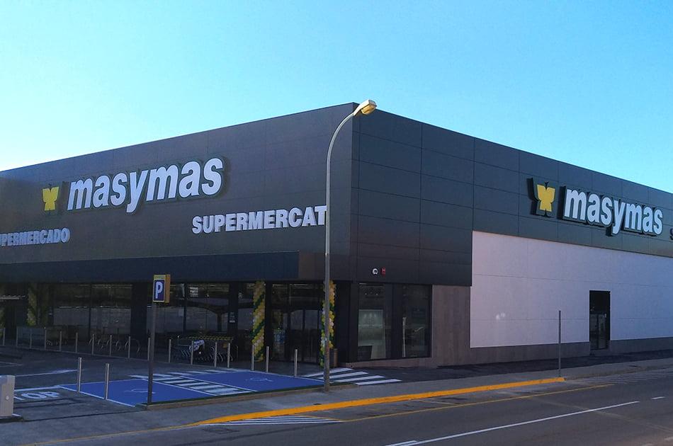 Supermercados de la Comunitat Valenciana incorporan las mascarillas a sus lineales