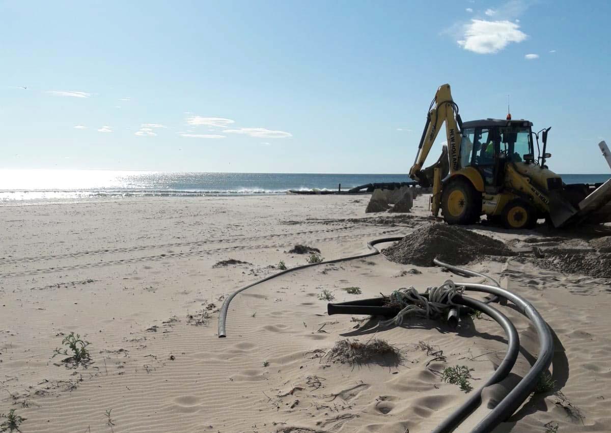 Imagen destacada Avanzan los trabajos de reparación en playas afectadas por Gloria