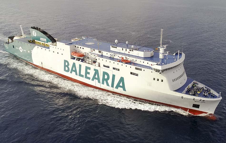 Baleària obtiene el certificado como espacio seguro de COVID-19 por Bureau Veritas