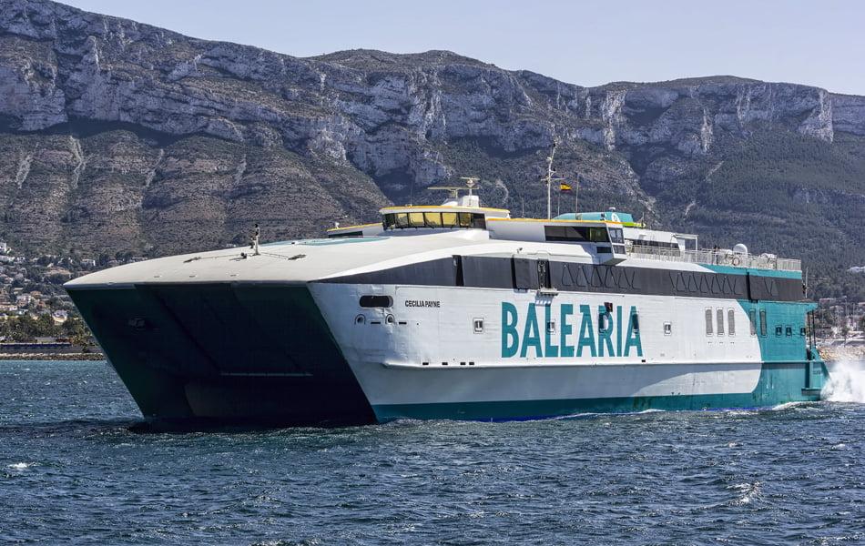 Imagen destacada Baleària retoma las conexiones a las Baleares a partir del lunes 25 de mayo