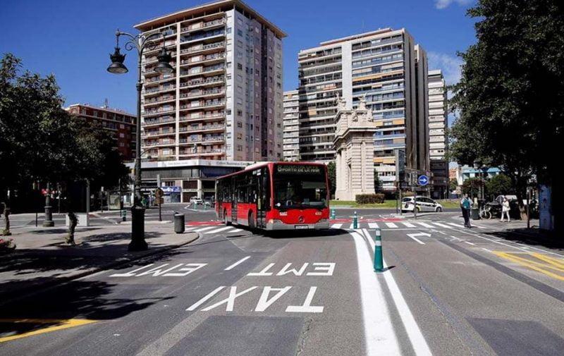 El transporte urbano en autobús cae el 56,6 % en junio en C.Valenciana