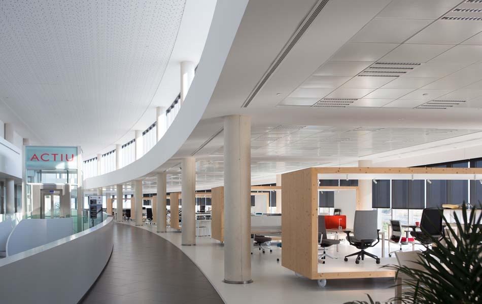 """Actiu creará espacios de trabajo """"seguros y eficientes"""""""