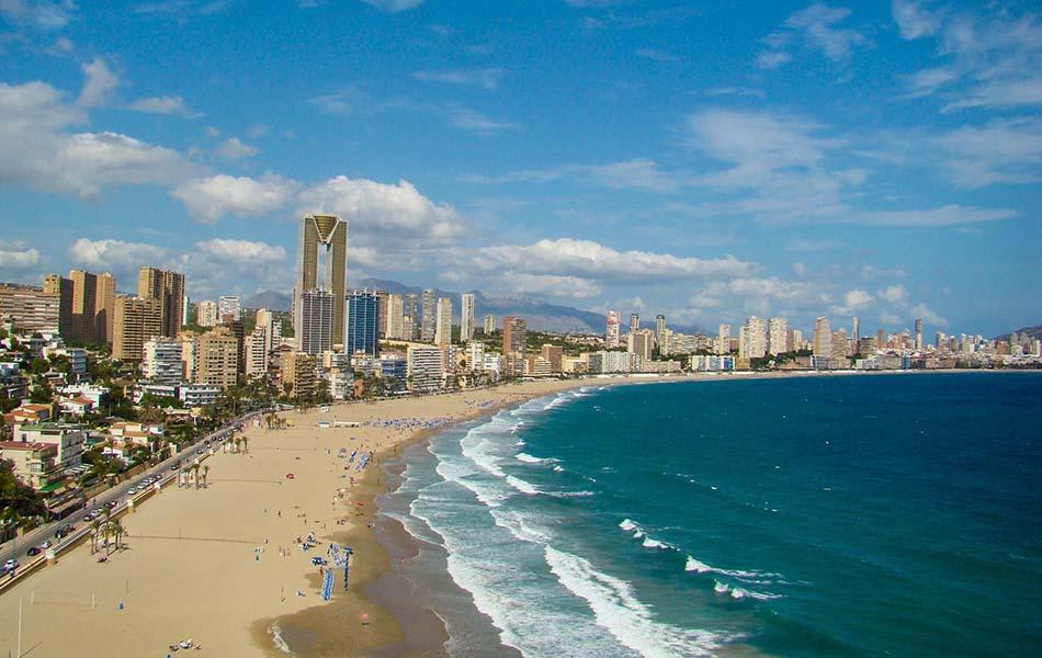 Más del 70 % del plan 'Ensanche Levante' de Benidorm se reservará a uso turístico