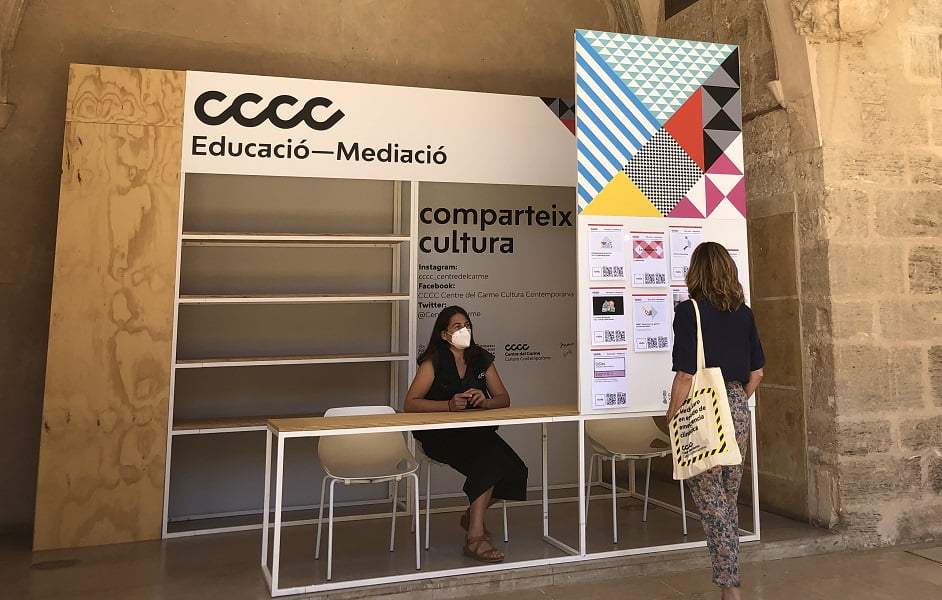 Imagen destacada El Centre del Carme reactiva las visitas guiadas a sus exposiciones