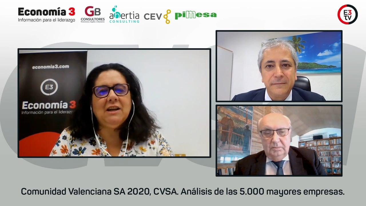 CVSA, más de dos millones de datos sobre las 5.000 mayores empresas de la Comunitat