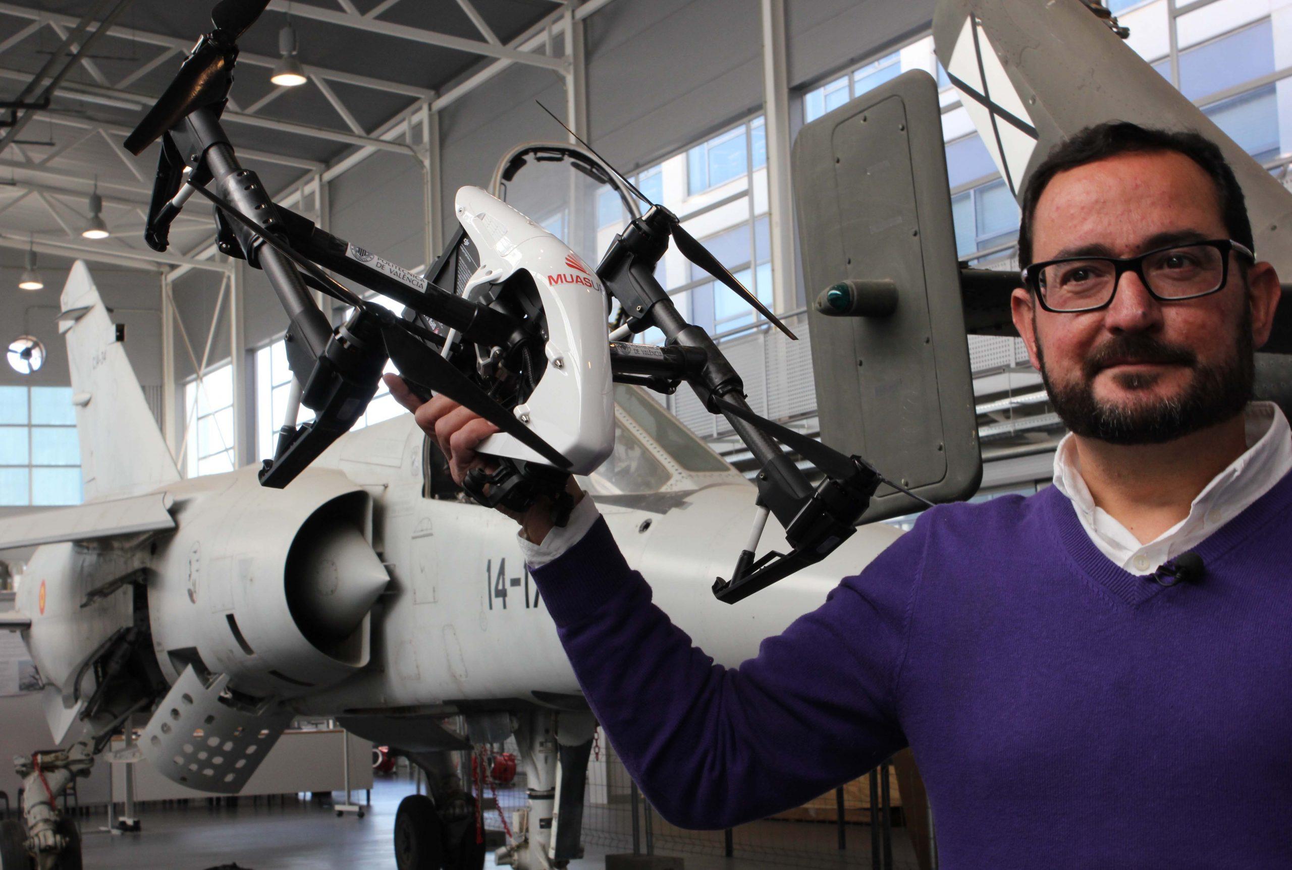 La UPV probará en septiembre drones con material sanitario para un posible rebrote
