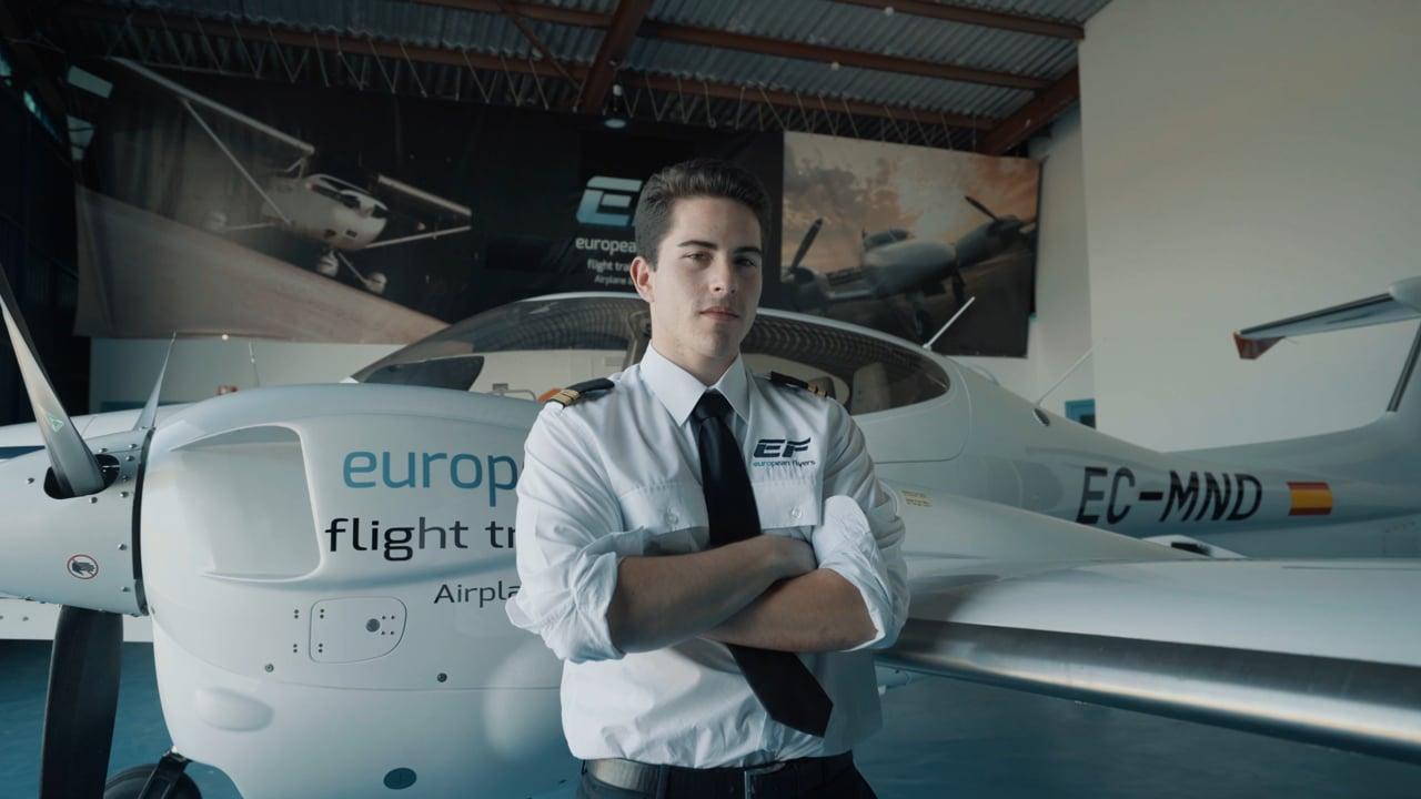European Flyers, la primera escuela europea de pilotos