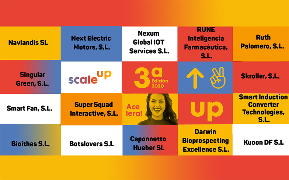Los 15 finalistas buscan en Scale up un trampolín para hacer crecer sus empresas