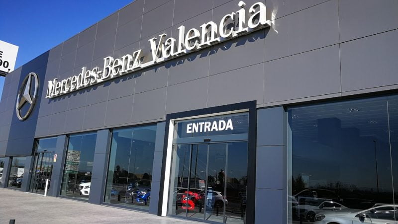 """Mercedes-Benz Valencia recibe el sello de """"Centro Protegido frente a la COVID-19"""""""