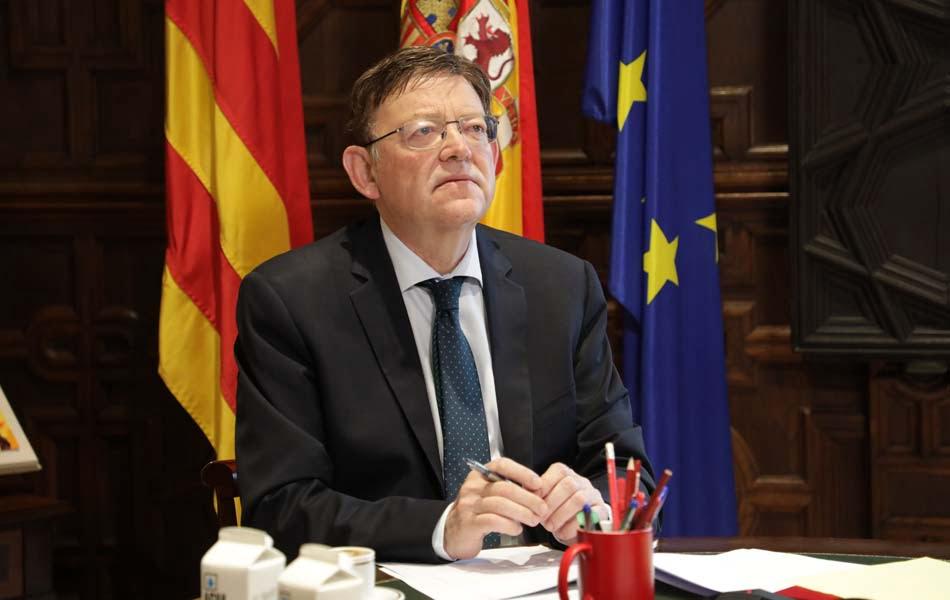 Puig pide junto a otros territorios europeos más capacidad de decidir ante UE