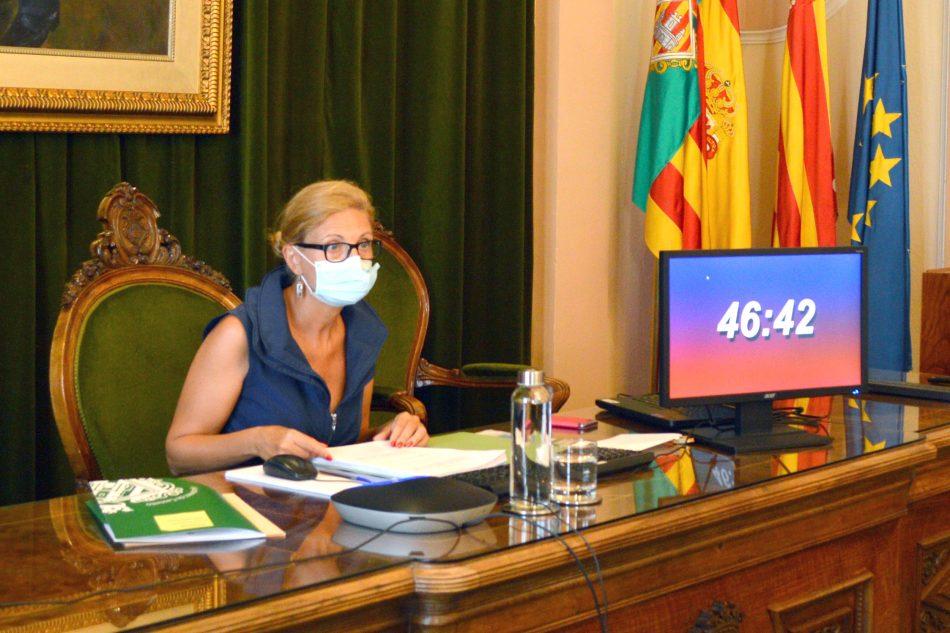 Castellón aprueba un presupuesto de 180 millones para reactivar la ciudad tras la Covid