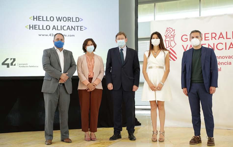 El campus de programación 42 abrirá en Alicante con capacidad para 600 estudiantes