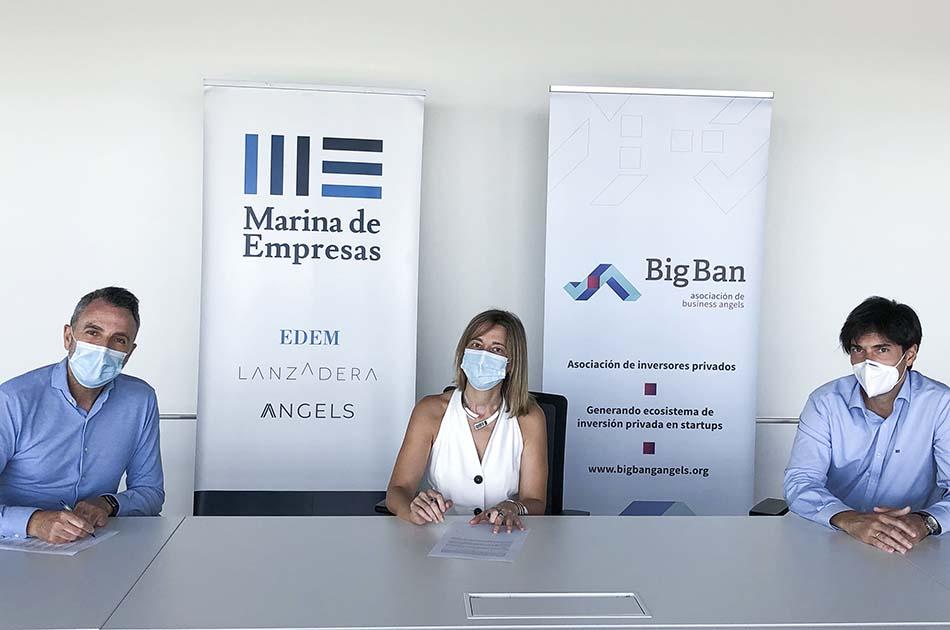Big Ban colaborará con Lanzadera y se instala en Marina de Empresas