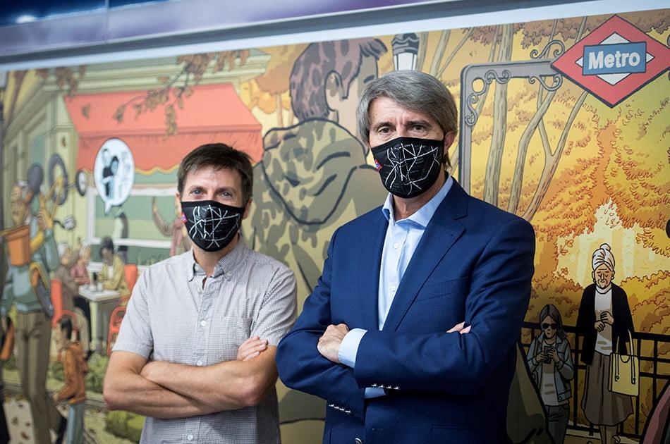 El arte de Paco Roca llega al metro de Madrid para homenajear a los abuelos