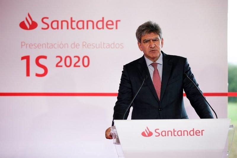 El consejero delegado del Banco Santander, José Antonio Álvarez