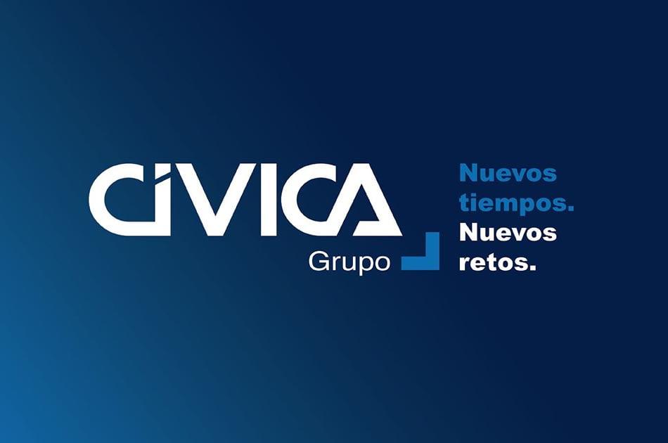 Grupo Cívica estrena marca corporativa y web dentro de su proceso de modernización