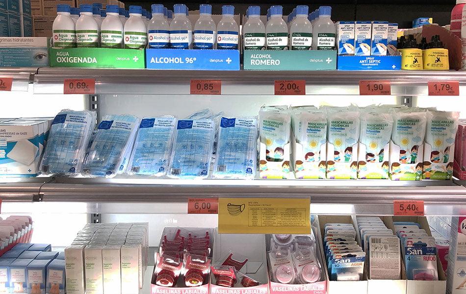 Mercadona empieza a vender mascarillas infantiles en todos sus supermercados