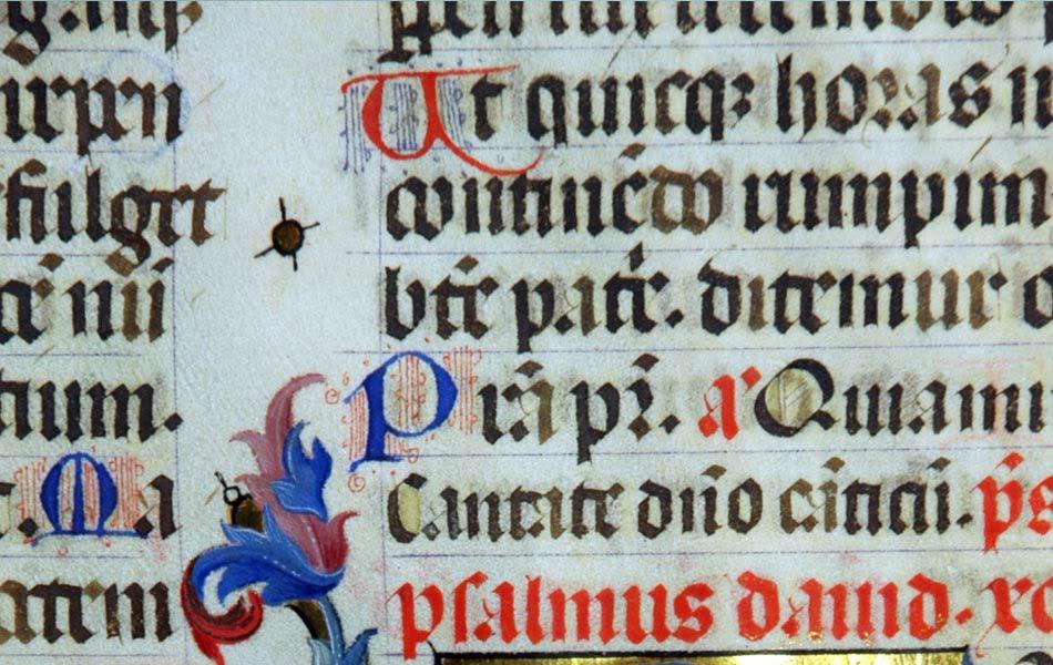 Imagen destacada El IVCR+i inicia una investigación sobre los manuscritos iluminados del siglo XV