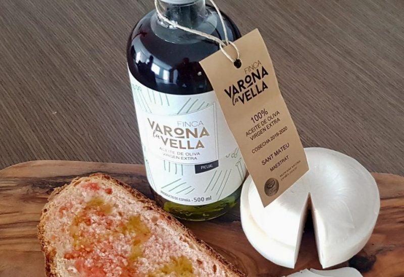 Botella de aceite Finca Varona la Vella