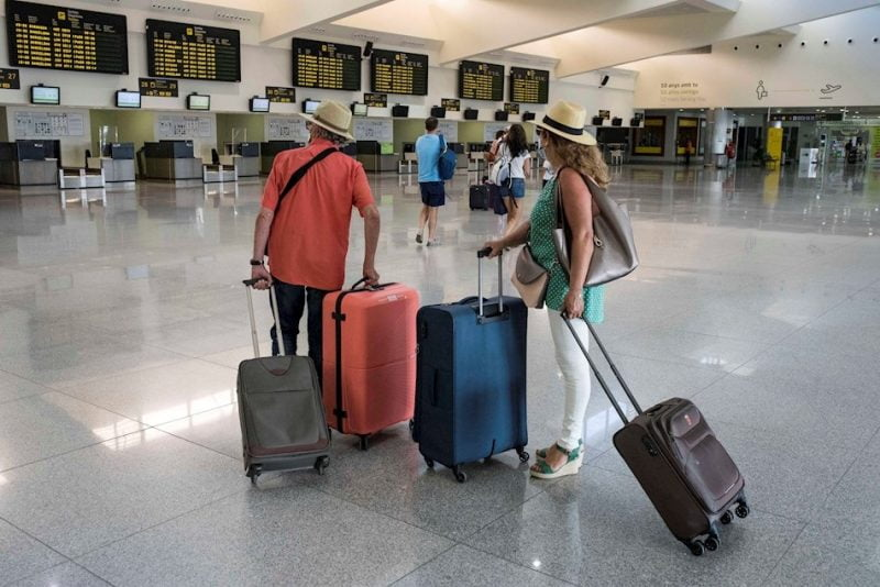 Aeropuerto bajo la normativa covid