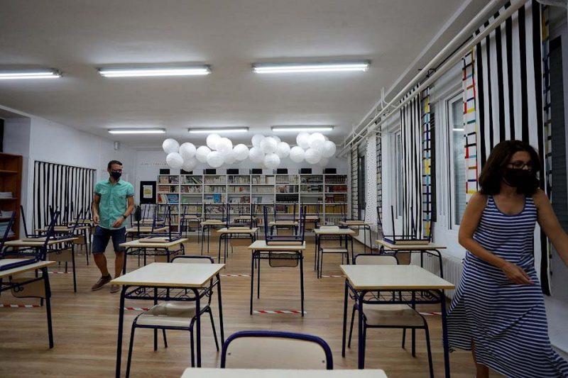 El personal de los centros educativos, sensaciones antes el arranque de curso