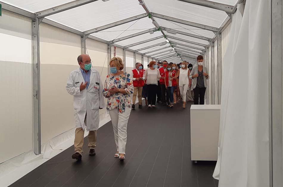 """Sanidad mantendrá """"sine die"""" el hospital de campaña de Alicante y piensa ya en 2021"""