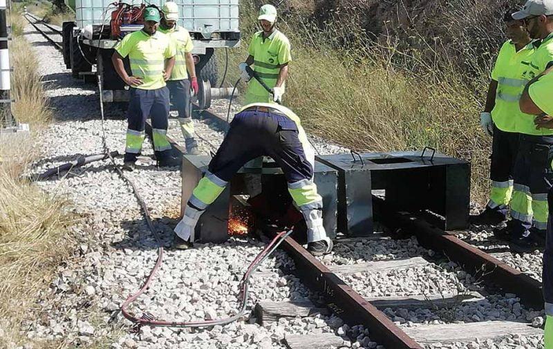 La Generalitat inicia las obras de renovación entre Teulada y Gata de Gorgos de la Línea 9