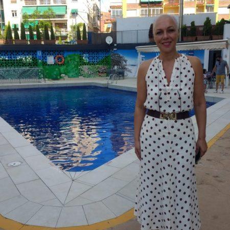 Victoria Puche, presidenta de la asociación provincial de hoteles APHA.