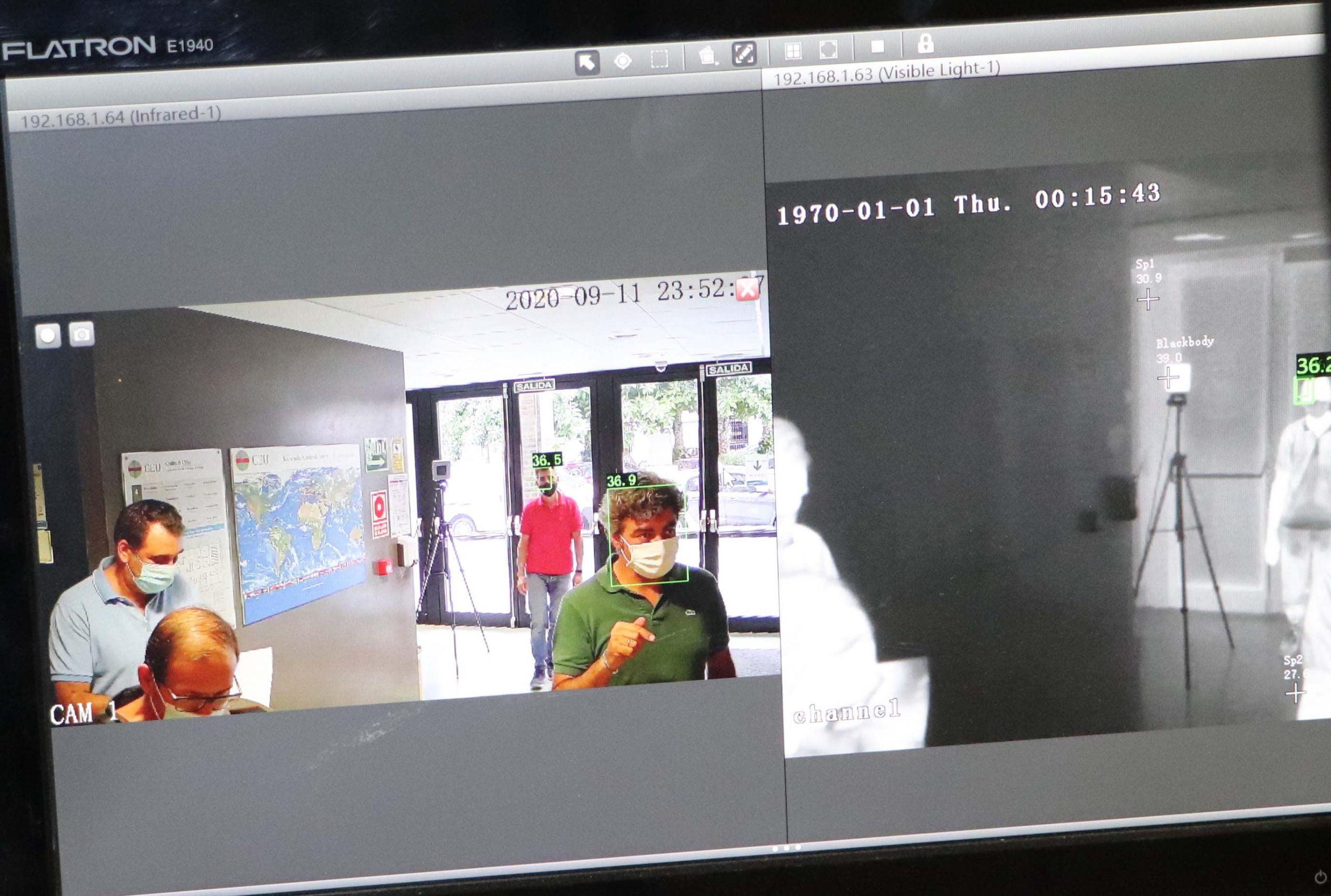 Imagen destacada El CEU instala cámaras de medición de temperatura en el acceso a sus edificios