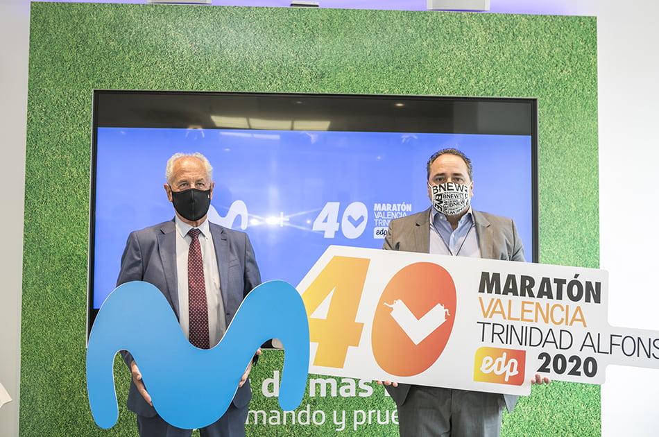 Movistar, nuevo patrocinador tecnológico del Medio y el Maratón Valencia