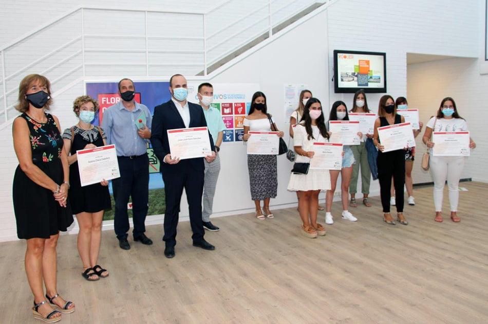 Florida Universitària y Caixa Popular premian los proyectos comprometidos con los ODS