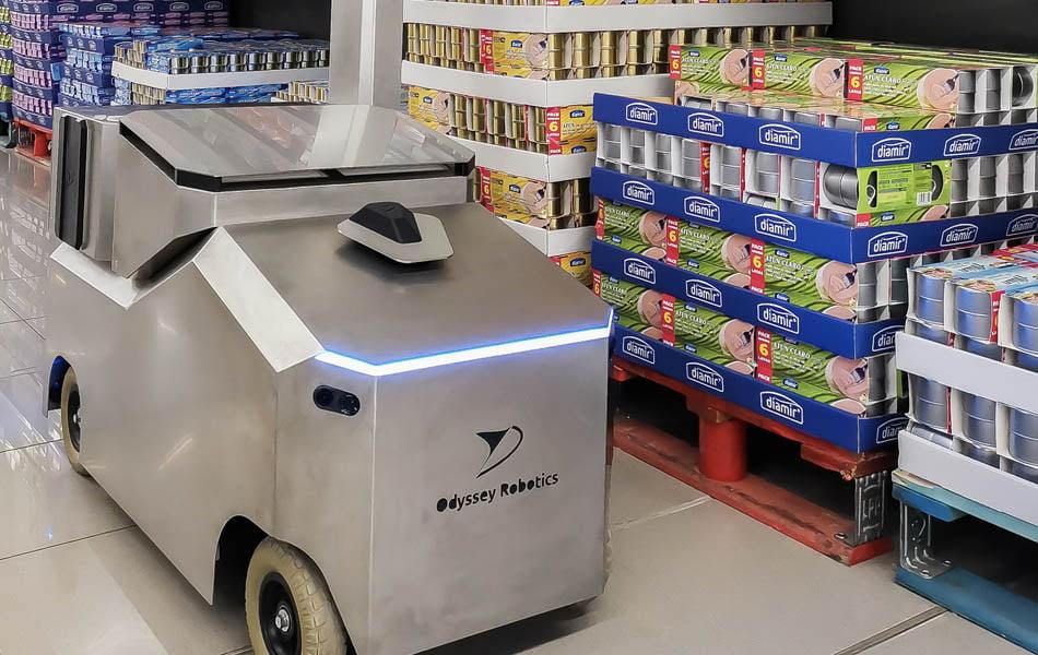 Imagen destacada La startup Odyssey Robotics avanza en un robot que desinfecta grandes superficies