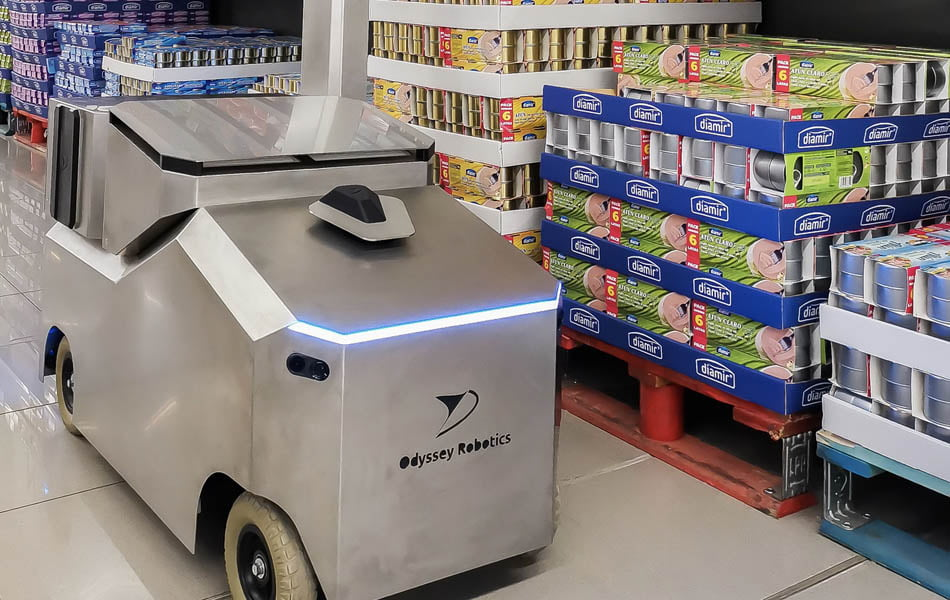 La startup Odyssey Robotics avanza en un robot que desinfecta grandes superficies
